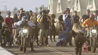 BMW Salty Sprint Drag Races at the Moto Beach Classic