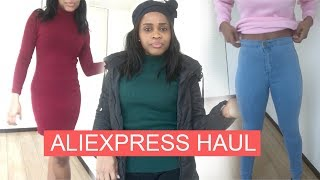 ALIEXPRESS HAUL!!! FIRST TIME BUYING WINTER CLOTHES!