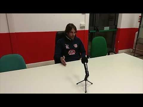 conferenza stampa di mister Consonni prima di S. Miniato Basso-Us Grosseto di Coppa Italia