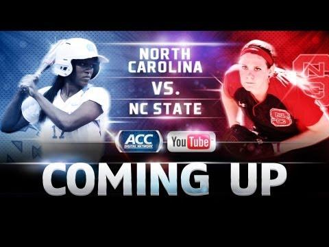 LIVE! ACC Softball | North Carolina vs. North Carolina State | ACCDigitalNetwork