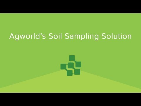 Agworld's Soil Sampling Solution