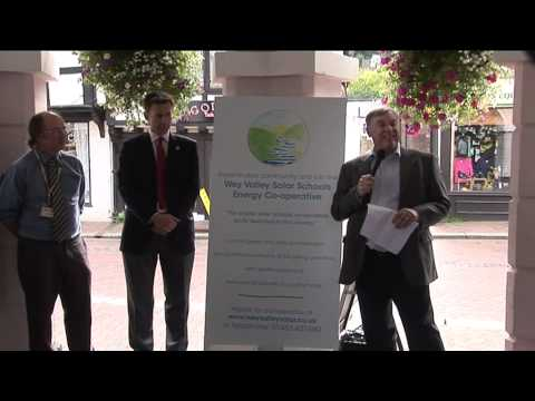 Wey Valley Solar Energy Co-operative launch