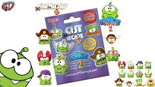 Cut The Rope Series 2: Mystery Blind Bags, Nommies Figures Toy Review, Vivid, SpongeBob Pixar Disney