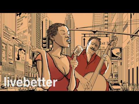 Jazz Bebop de New York Moderno Instrumental   Música de Jazz Moderna Movida para Trabajar y Estudiar