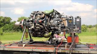 Curtiss-Wright R-3350 32-WA, 18 Cylinder Radial Engine (Sternmotor), second start