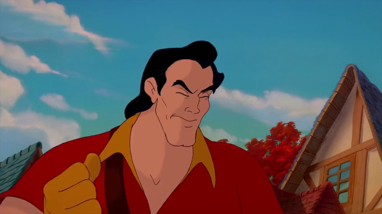 The Best Of Gaston Beauty And The Beast Scenes Youtube