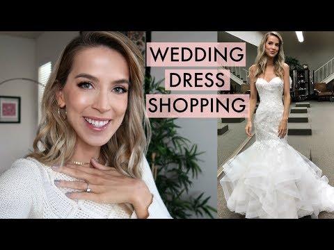 WEDDING DRESS SHOPPING | leighannsays