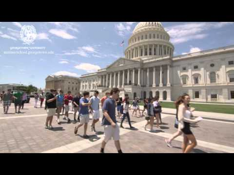 Experience Summer School at Georgetown University