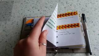 Мой Filofax Pocket изнутри. Системы планирования