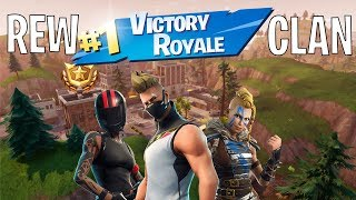 2 VITTORIE REALI IN UN SOLO VIDEO?! FORTNITE BATTLE ROYALE - BY REW CLAN!