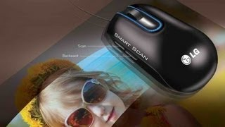 LG Smart Scan Mouse LSM 100 - The Worlds 1st Mouse Scanner