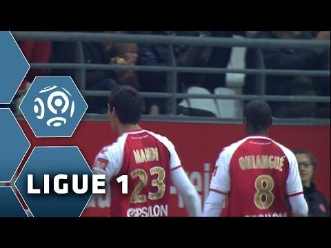 But Aissa MANDI (16') / Stade de Reims - FC Nantes (3-1) -  (SdR - FCN) / 2014-15