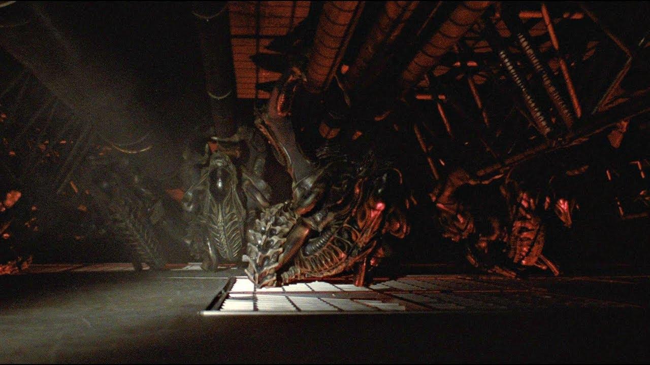 Aliens 1986: The Best Shootout Scene 4K