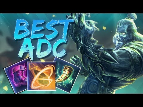 Hebo ADC: DESTROYING FROM THE HUNTER ROLE! - Smite
