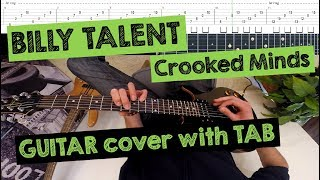 🎸 BILLY TALENT - Crooked Minds (FPV/POV GUITAR cover with TAB)