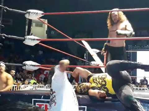The Crash Jack Evans vs Bestia 666 (Lucha Super Libre)