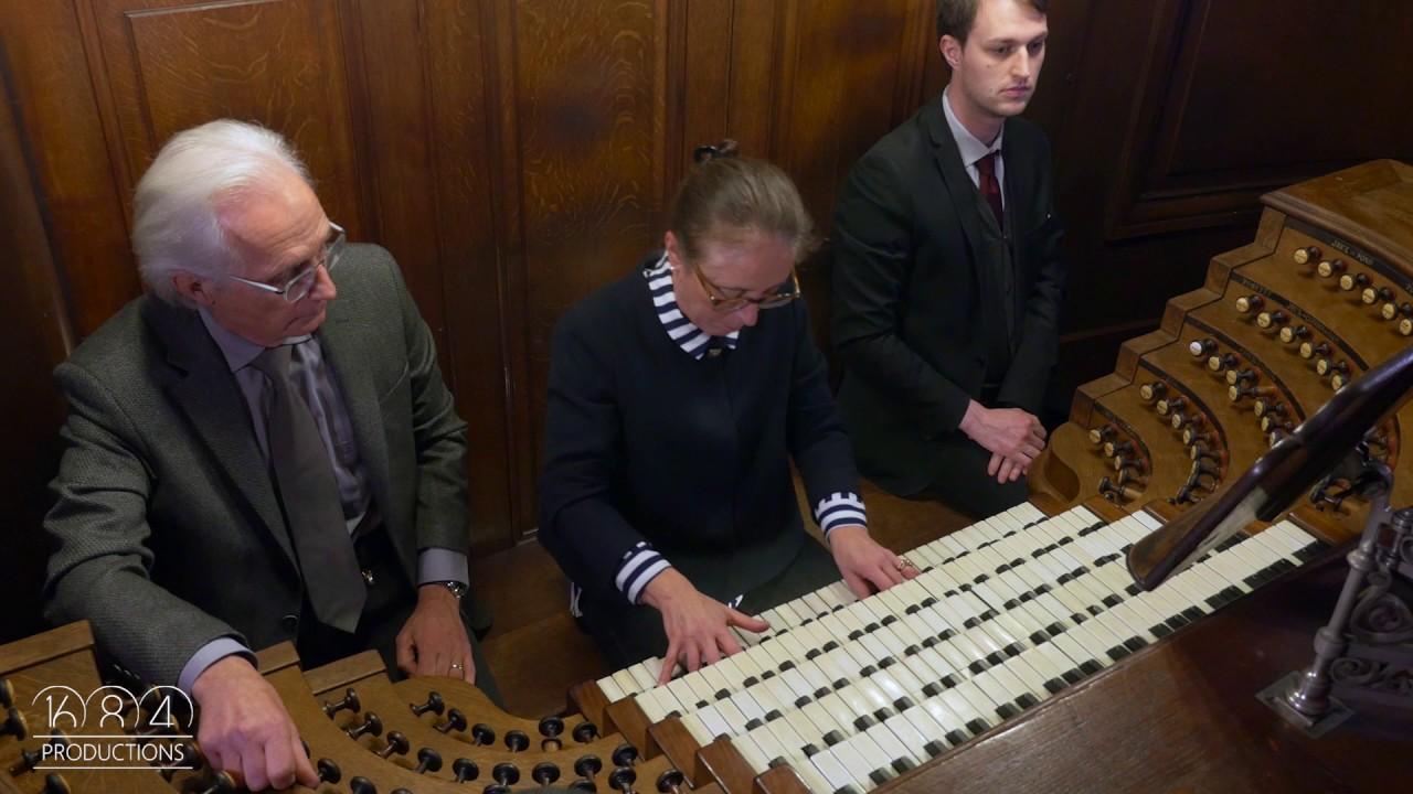 Saint-Sulpice organ, Sophie-V Cauchefer-Choplin improvises (jan ...