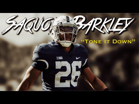 "Saquon Barkley 2017-18 Mid-Season Highlight Mix || Penn State RB #26 || ""Tone It Down"""