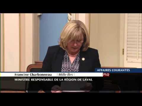 Francine Charbonneau - Hommage à Umberto Bruni - 21 avril 2015