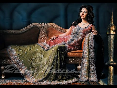 e1130b0148 Top Pakistani Designer Bridal Frocks 2017 2018 Wedding Dresses - YouTube