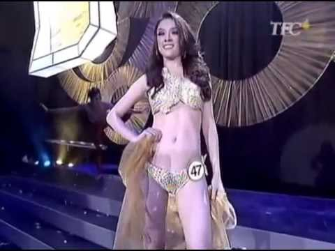 Gold Swimsuit Competition Binibining Pilipinas Miss Universe Philippines  Contest  2013