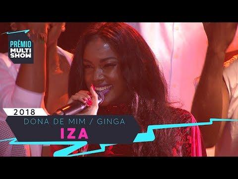 Dona de Mim + Ginga | Iza | Prêmio Multishow 2018