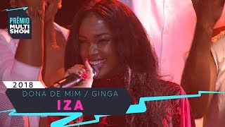 Baixar Dona de Mim + Ginga | Iza | Prêmio Multishow 2018