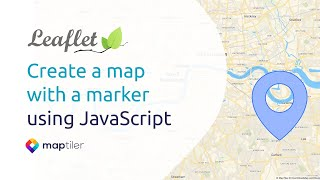 Broşür Öğretici #1: bir kalem ile JavaScript kullanarak bir harita Oluşturmak