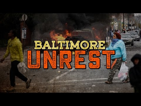 Riots In Baltimore, Buildings And Cars Burn After Death Of Freddie Gray