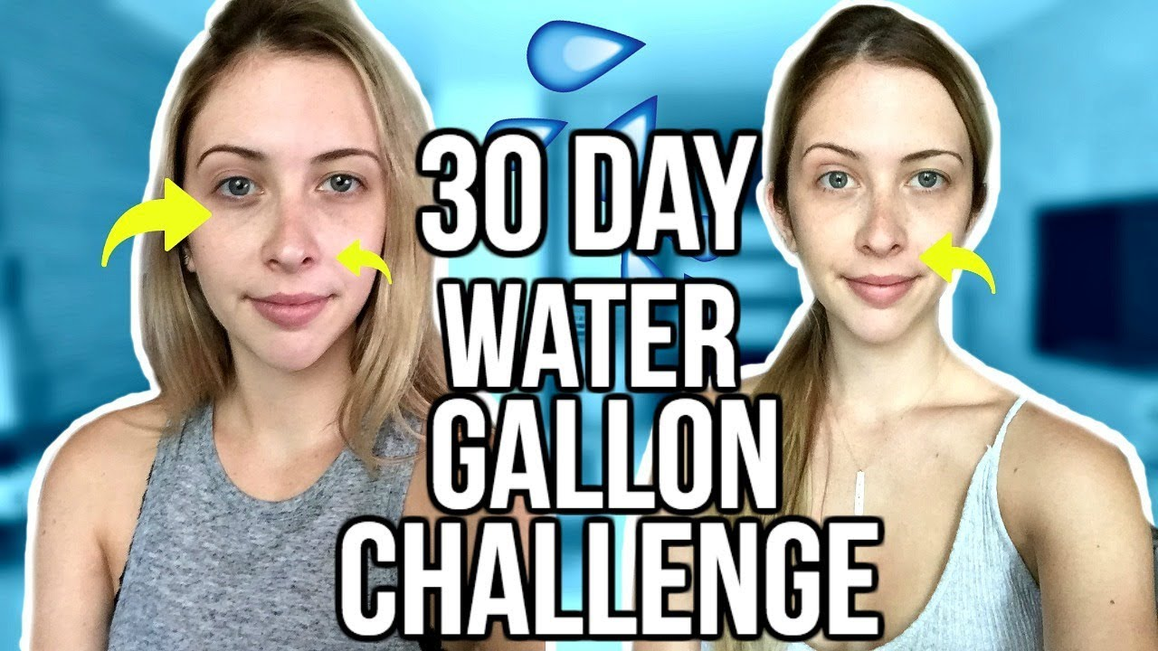 30 Day Gallon Water Challenge BEFORE & AFTER!