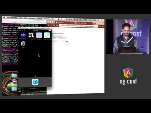 Daniel Zen - Using AngularJS to create iPhone & Android applications with PhoneGap - NG-Conf 2014