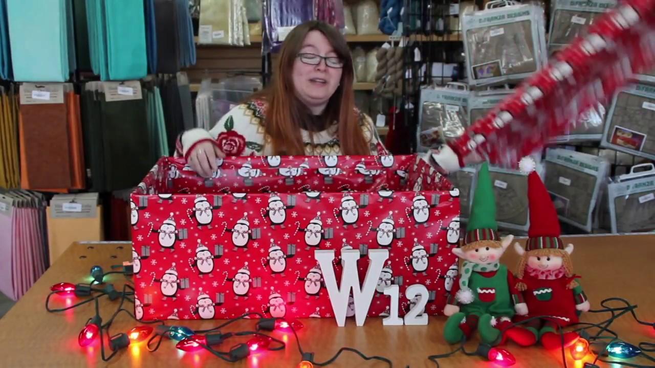 Sneak Peek Unboxing - The Twelfth Fiber Gift of Christmas from The Woolery