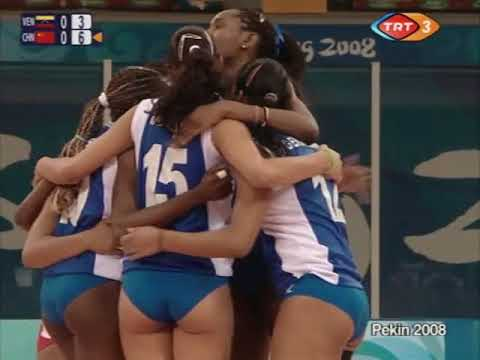 Volleyball Olympics 9 08 2008 Women Venezuela - China