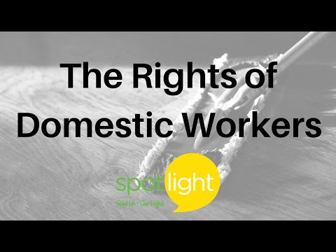 """The Rights of Domestic Workers"" - practice English with Spotlight"