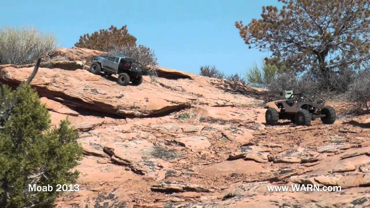 2013 WARN Winches Trail Ride during Moab Easter Jeep Safari