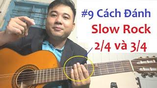 |Guitar 5 Phút| Điệu Slowrock nhịp 2/4 - Giai Điệu Tình Sầu