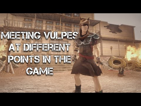 Meeting Vulpes Inculta at Different Points in the Game - Fallout New Vegas |