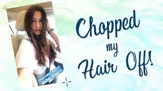 Chopped my hair off! | Gauahar Khan