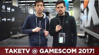 Studio-Aufbau und Crew-Vorstellung | gamescom 2017 | Tag 1 | TaKeTV