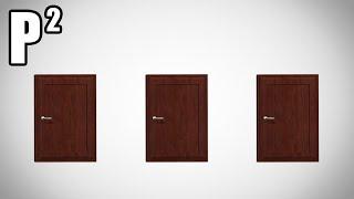 Problém tří dveří/ Monty Hallův problém - P²