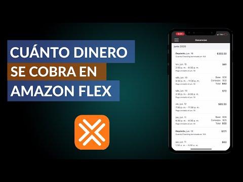 ¿Cuál es el Sueldo neto y Cuanto Dinero se Cobra en Amazon Flex?