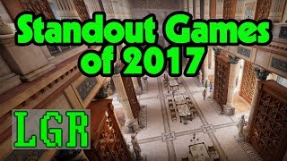 LGR's Obligatory 2017 Year-End Games List
