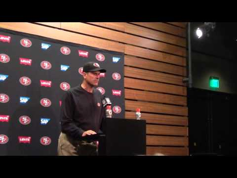Jim Harbaugh on how team handles rumors about his future