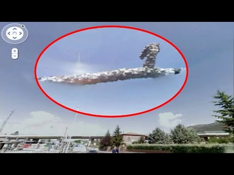 5 Mysterious Events Ever Captured By Google Earth!