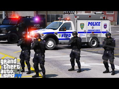 GTA 5 LSPDFR #503 | NYPD ESU | Emergency Service Unit Responding To Swat Calls