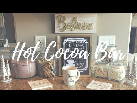 Hot Cocoa Station & Giveaway - Christmas 2017