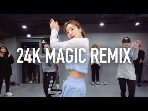 24K Magic (Remix) - Bruno Mars / May J Lee Choreography