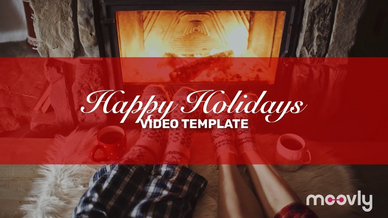Season S Greeting Happy Holidays Video Template L Moovly Youtube
