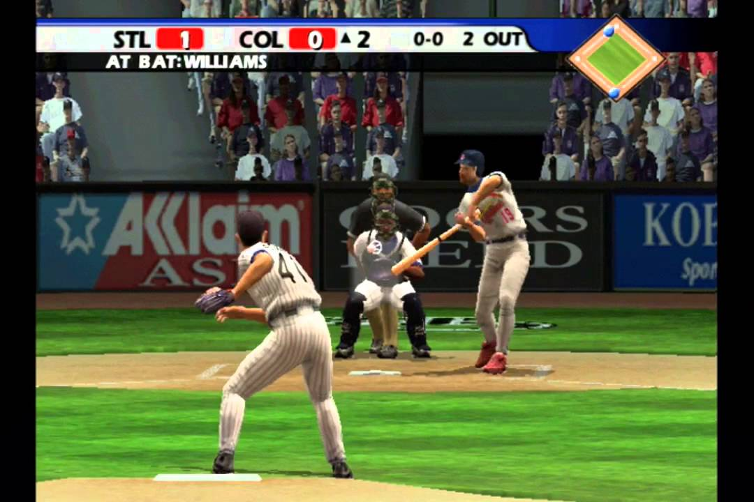 All-Star Baseball 2005-game in curso!