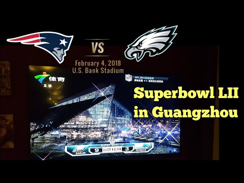 Superbowl LII in China